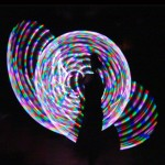 Jen with Rhythms' Rainbow by Delightful Hoops